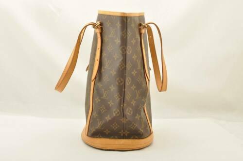 LOUIS VUITTON Monogram Bucket GM Shoulder Bag M42236 Auth 10719 **No Sticky image 4