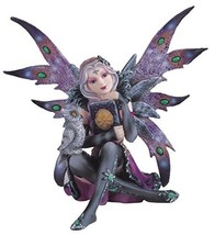StealStreet SS-G-91409 Purple Fairy with Grey Owl Collectible Figurine D... - $32.36