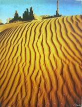 Springbok Jigsaw Puzzle Sand Sculpture 1978 PZL 4098 Desert 500 Pc Complete - $7.99