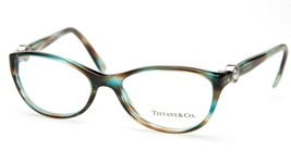 Tiffany & Co. Tf 2093-B 8124 Ocean Green Eyeglasses Frame 52-17-140 B36 Italy - $123.74