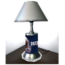 New England Patriots desk lamp with chrome finish shade - $39.99