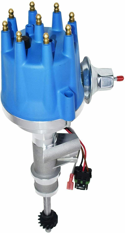 55-57 Ford Thunderbird Y-Block 272 292 Pro Series R2R Distributor Male Blue Cap