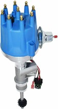 55-57 Ford Thunderbird Y-Block 272 292 Pro Series R2R Distributor Male Blue Cap