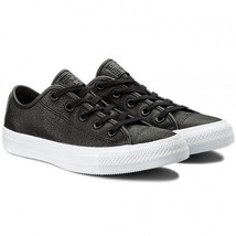 Converse CHUCK TAYLOR ALL STAR OX black trainers size UK 7 - $822,28 MXN