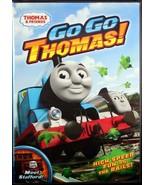 Thomas & Friends Go Go Thomas! DVD Children's Train Engines Railroad Kids - $9.94