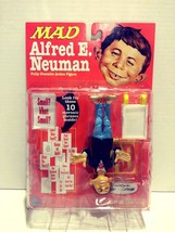 1998 New Alfred E. Neuman Fully Poseable Action Figure DC Direct MAD - $39.99