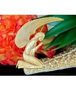 Vintage Praying Angel Brooch Pin Pendant Museum Natural History MONH - $24.95