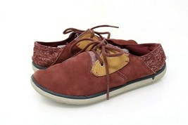 Merrell Womens 5.5 Sneakers Andorra Red Yellow Low Top Lace Up Shoes J02... - $32.99