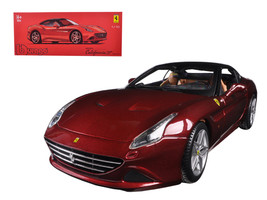 Ferrari California T Closed Top Red Signature Series 1/18 Diecast Model Car by B - $90.99
