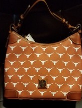 Dooney & Bourke NCAA Texas Longhorns Hobo Shoulder Bag UT $218.00 Retail - $187.61
