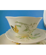 Lenox Butterfly Meadow4 piece set of China Dinner plate salad bread soup PRETTY - $39.59