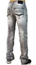 NEW AFFLICTION MENS JEANS ACE DRIFTER HOLLYWOOD 110SS106 SIZE 42X34 NWT - $46.71