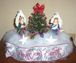 Angels & Doves centerpiece or table arrangement for Christmas #785, SALE! - $56.99