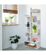 Free Standing Bookcase Bookshelf, 9 Tier Tree-shaped Book Shelves Wooden... - $105.99