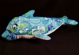 "Melissa & Doug Girl Scout Dolphin Plush 11"" Stretchy Stuffed 2012-13 ABC... - $9.95"