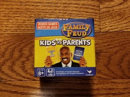 Family Feud KIDS vs PARENTS Trivia Box Card Game