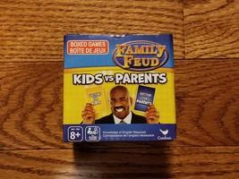 Family Feud KIDS vs PARENTS Trivia Box Card Game