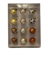 Department 56 MiniGlass Sports Ball Ornament  Baseball Golf  Soccer - $15.39