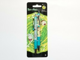 Rick and Morty 0.7mm Gel Pen 2 Pack IW0146 Back to School