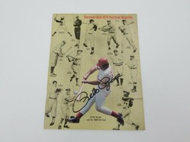 1978 Cincinnati Reds Yearbook Pete Rose Autograph Cover MLB Baseball 300... - $78.17