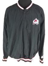 Colarado Avalanche Mens XXL Pullover Jacket Starter 2XL Vintage 1990s 90s - $74.24