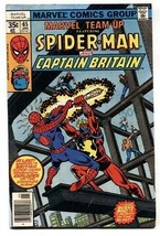 Marvel TEAM-UP #65-1st Captain Britain In US-1977 Vg - $31.53