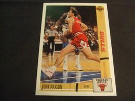 1991-92 Upper Deck #117 John Paxson -Chicago Bulls- - $3.12