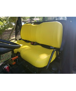 John Deere Gator Bench XUV 550 Seat Covers YELLOW 550 S4  or 25 Colors &... - $82.95