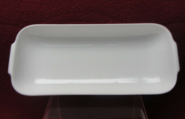 "ROSENTHAL China - HELENA Pattern (all white) - 9"" PICKLE / RELISH DISH - $30.95"