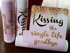 12 Bridal Shower Lip Balms - Bachelorette Party Favors - Kissing the Sin... - $17.84