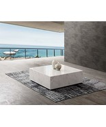 Whiteline Modern Living CT1667-WHT Cube Coffee Table, White - $1,599.00