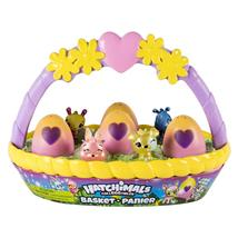 Hatchimals CollEGGtibles Easter Basket with 6 Hatchimals CollEGGtibles - $24.29
