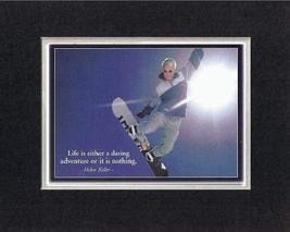 Touching and Heartfelt Poem for Motivations - [Life is either a daring a... - $10.84