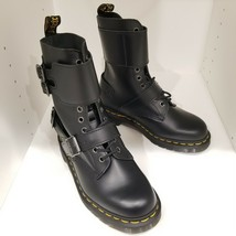 Dr Martens 1490 JOSKA Smooth Leather Black Boots Women's Size 7 / Men's Size 6 - $159.99