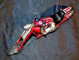 Chopper Motorcycle Figurine Replica 305-BVintage image 5
