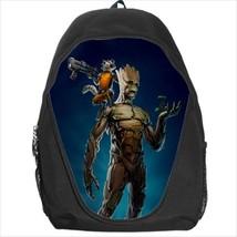 backpack bookbag groot gotg rocket raccoon - $41.00