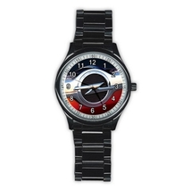 Stainless Steel Round Metal Watch Highest Quality Opel - $27.49