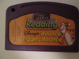 Leapfrog Leap One Game Cartridge Reading Disney's Bounce Tigger Bounce - $7.59