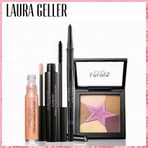 Laura Geller star treatment 4 piece eye & lip full size collection  Kit - $19.77