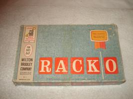Vintage RACKO Card Game By Milton Bradley RACK-O 1961 Complete - $12.86