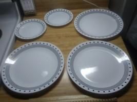 Corelle city block plates - $19.79