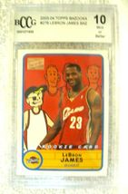 Lebron James RC 2004 Fleer USA Rookie Card GEM BGS 9.5! Cavaliers RC image 5