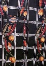 Dickies Chef Pants Elastic Drawstring Waist Black Twill Pepper Boxer Ban... - $17.79