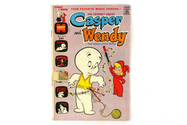 Casper & Wendy July 1973 No. 6 Harvey Publication Inc Vintage Comic Book - $5.76
