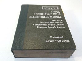 Motor Truck Engine Tune Up Electronics Manual 5th Edition 1986-91 Trade ... - $24.99