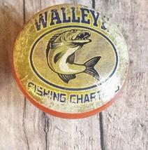 """6 Handmade Fishing Wood Knob Cabinet Knobs, 1.5"""", Walleye Fishing Cabin ... - $35.64"""