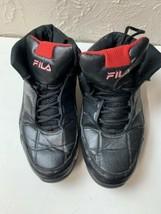 Fila Black Red hi top basketball shoes  Mens size 11 - €12,60 EUR