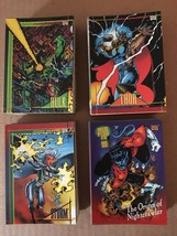 1993 Skybox Marvel Universe IV Complete 180 Card Set NM Condition - $25.19