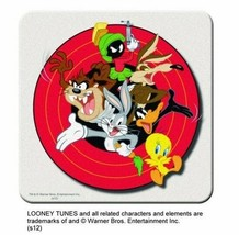 Looney Tunes Group Cast of Characters Image Set of 8 Coasters, NEW UNUSED - $11.13