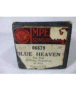 Blue Heaven Fox Trot played by Whiting Donaldson Imperial 06679 Piano Roll - $12.86